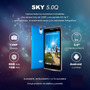 Smartphone Sky 5.0 Q 5 Pulg Hd 8gb Cam13 Mpx/ 5mpx Sony