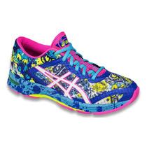 Zapatillas Running Asics Gel Noosa Tri 4 Mujer Originales!