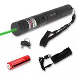 Puntero Laser Verde Potente + Bateria Cargador Punto Lluvia