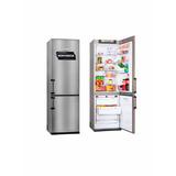 Heladera Kohinoor Kga 4094 Freezer Abajo 367 L Color Acero