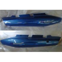 Juego De Cacha Bajo Asiento Motomel C110 Azul - 2r