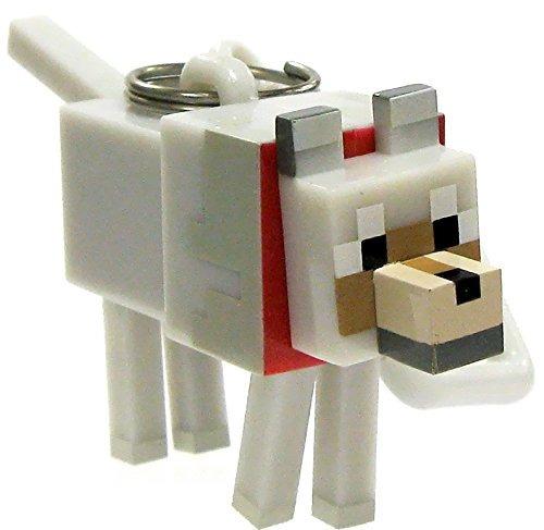 Llavero Minecraft Perchas Serie 2 3 Tamed Lobo