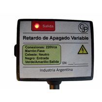 Retardador De Apagado Variable 5min. (toff)