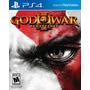 God Of War 3 Remastered Ps4 Nuevo Sellado Original