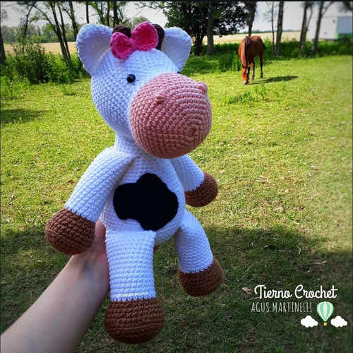 Amigurumi Cow - FREE Crochet Pattern and Tutorial.... not that you ... | 500x500