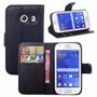 Estuche Ejecutivo Funda Agenda Eco Cuero Samsung Galaxy Core