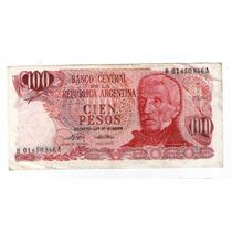 Argentina Billete Reposición 1974 100 Pesos Decreto B#2400