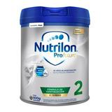 Leche De Fórmula En Polvo Nutricia Bagó Nutrilon Profutura 2 Por 6 Unidades De 800g