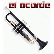 Trompeta Parquer Custom Bb C/estuche - El Acorde Pacheco