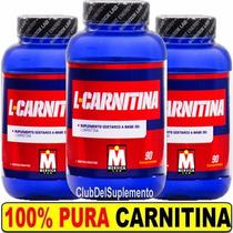 Promo Carnitina Mervick 180 Cps Quemador De Grasa Da Energia