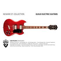 Guild Guitarra Electrica S100 Polara Newark Hendrix Music
