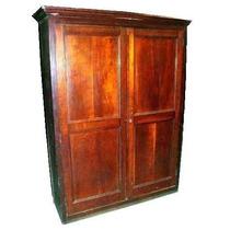 Mueble de campo antiguo ropero armario biblioteca cedro for Muebles antiguos argentina