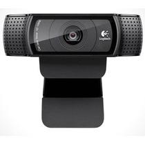 Camara Web Logitech C920 Full Hd 1080p Skype C/ Microfono