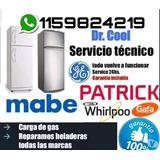 Service Heladera Carga Gas Reparacion Aire Tecnico Siam Mabe