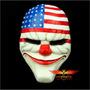 Mascara Payday Ii Video Juegos Games, Pvc Fuerte Excelentes!