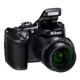Camara Nikon Coolpix B500 16mp Lcd 3¨ Zoom 40x Filma Full Hd