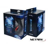Auricular Gamer Netmak Medusa C/microfono - Mop Lanus!!!