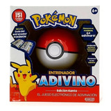 Pokemon Entrenador Adivino Pokebola - Sharif Express