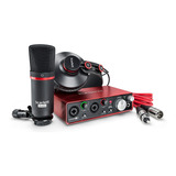 Focusrite Scarlett 2i2 Studio 3gen Kit De Grabacion Pack