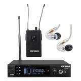 Ross Fum-001 Sistema De Monitoreo Inalámbrico + Shure Se215