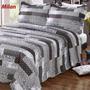 Cubrecama Quilt Cover Reversible Con Fundas 2 1/2 Plazas