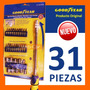 Set Herram.31 Piezas Good Year®-eje Magnetico/flexible 215mm