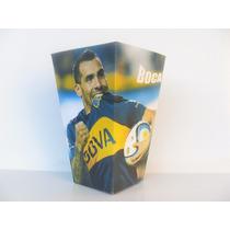 Cono Para Pochoclos Y Golosinas Boca Juniors Pack X50