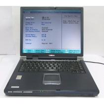 Notebook Toshiba Satellite 2430-s255 Sin Fuente, Bat Ni Disc