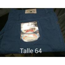 Pantalon Gabardina Talle 74 Azul