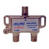 Derivador Splitter Digital Holland Ghs-2pro 1 Ghz Tv Hd Tda