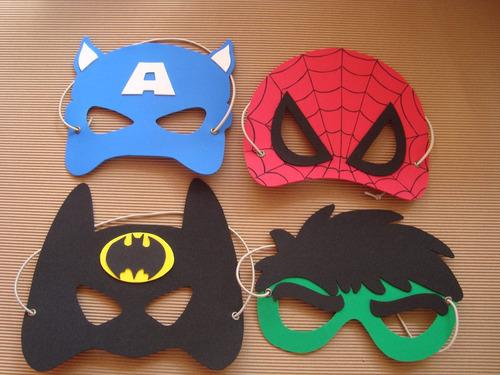 faefc0c60dc Mascaras De Superheroes En Goma Eva en venta en Mataderos Capital ...