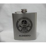 Petaca Whisky Acero Inoxidable Personalizada Grabado 7oz