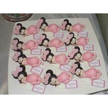 Souvenirs De Minnie Bebé En Porcelana Fría.