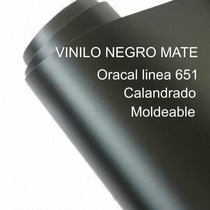 Vinilo Negro Mate Oracal - Ancho 1.22 Mt