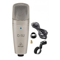 Behringer C-1u Micrófono Condenser Usb Audiomasmusica