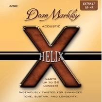 Cuerdas Guitarra Dean Markley Helix Acoustic 2080 Xl