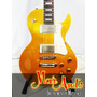 Cort Cr200 Gt - Guitarra Electrica T/ Les Paul Gold Top
