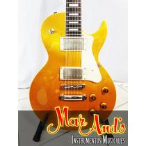Cort Cr200 Gt - Guitarra Electrica T/ Les Paul Gold Top
