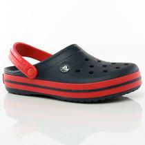 Sandalias Crocband Navy/red Crocs Team Sport Tienda Oficial