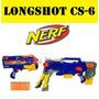 Nerf Longshot Cs-6 + Con Mira - Ultima En Stock!!!