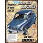 Cartel Chapa Publicidad Antigua Fiat 600 L257