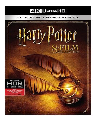 4k Ultra Hd + Blu-ray Harry Potter Collection / 8 Films