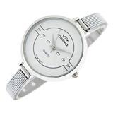 Reloj Montreal Mujer Ml468 Malla Acero Envío Gratis