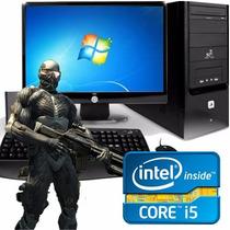 Pc Computadora Intel Core I5 8gb 1tb + Monitor Led 22