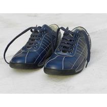 Zapatillas De Hombre Urbanas Imitación Cuero
