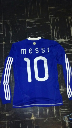 4535538b67 Camiseta Seleccion Argentina Formotion 2010 Messi Suplente