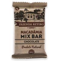 Barra de Macadamia Mix Bar com Chocolate 22g -Fazenda Retiro