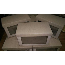 Caja De Carton Microcorrugado Con Visor 20x10x12