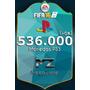 Promo Fin De Semana!!! 536k Monedas Coins Fifa 16 Ps3 *mz