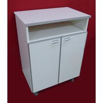 Mueble Organizador Cocina Multiuso 60 Cm Con Bordes Aluminio